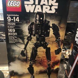 Star Wars limited edition legos